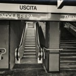 Stazione Amendola-Fiera, Scale ultimate, foto: Publifoto